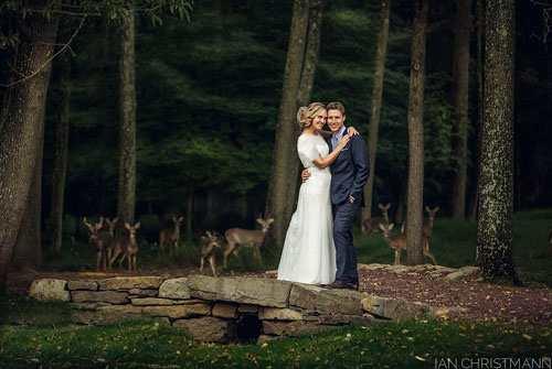 صحنه ناگهانی و شگفت انگیز در زمان عکس گرفتن در روز عروسی