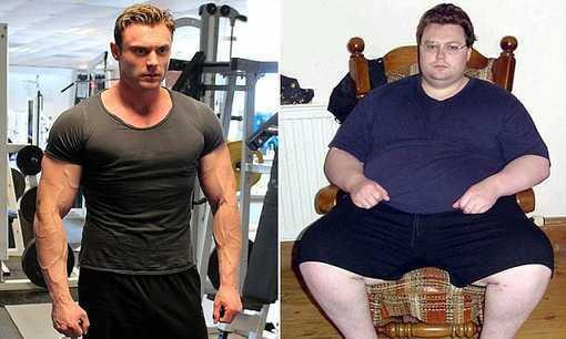 عکس های دیدنی و غیر قابل باور جنگجوی کاهش وزن