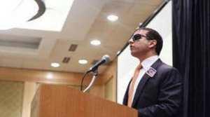 سیروس حبیب یک ایرانی نابینا با عالی ترین سمت سیاسی در امریکا