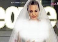 عکس های داغ لباس عروس منحصر به فرد آنجلینا جولی