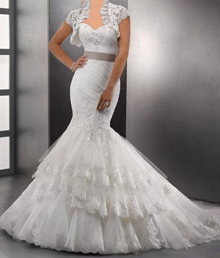 جدید و شیک ترین مدل لباس عروس مارک معروف
