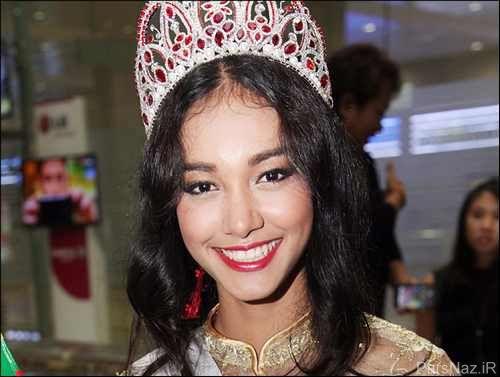 خلع تاج ملکه زیبایی متقلب و دروغگو + عکس