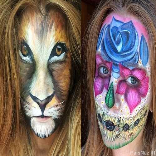 خلاقیت جالب و دیدنی یک دختر 21 ساله + عکس