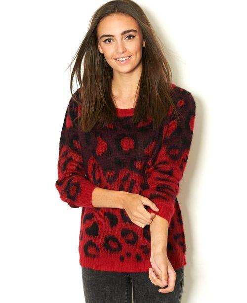 مدل های جدید و شیک لباس بافت پاییزی زنانه