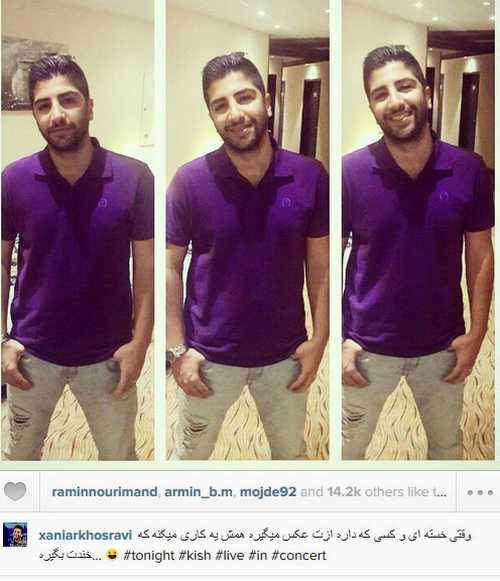 ستارگان و چهره های سرشناس ایرانی در شبکه های اجتماعی