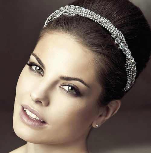 مدل های جدید از تل سر و گل سر عروس