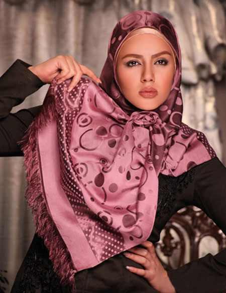 جدیدترین مدل های شال و روسری زنانه
