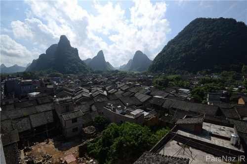 معرفی یک شهرک هزارساله بی نظیر در میان کوه ها