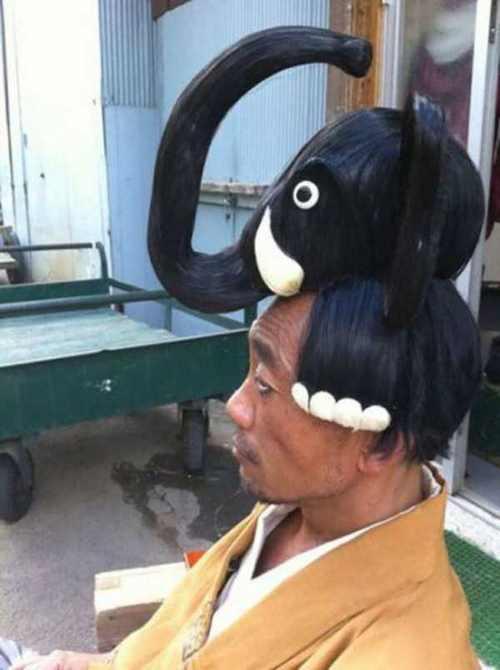 عکس های خفن از خنده دارترین مدل موی فرنگی