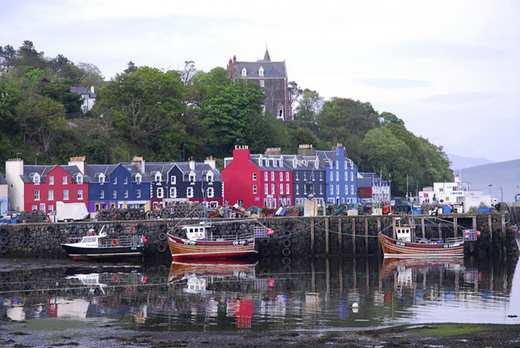 عکسهایی از طبیعت دیدنی جزیره مول در کشور اسکاتلند