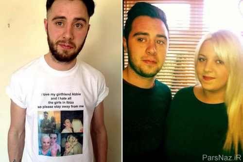 اقدام خجالت آور و عجیب زن برای حفاظت از شوهر + عکس