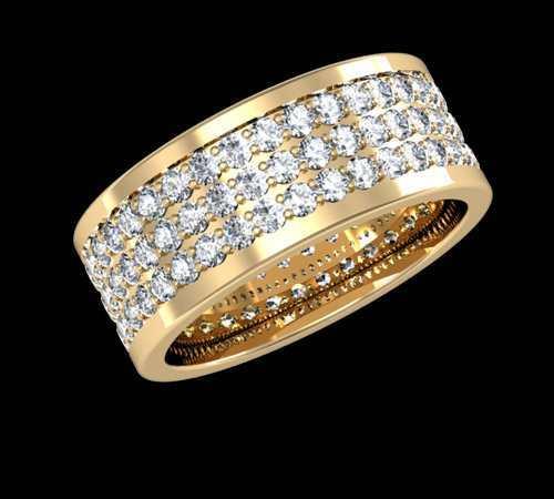 شیک ترین مدل های حلقه ازدواج طلای دو رنگ