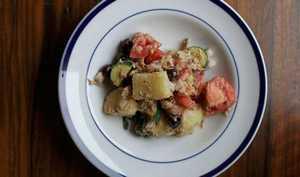 3 دستور تهیه خوراک، سوپ و سالاد با سیب زمینی