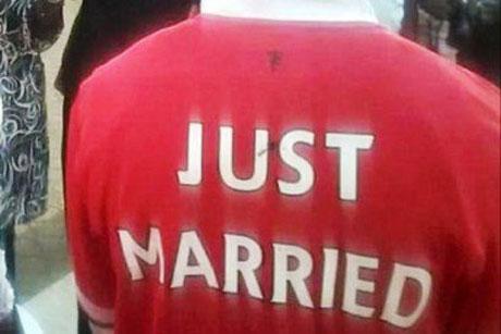 عکس های دیدنی ازدواج عروس و داماد عشق فوتبال