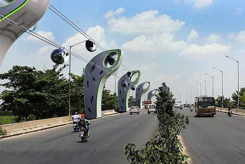 تله کابین شهری سال 2030 اینگونه خواهد بود + عکس