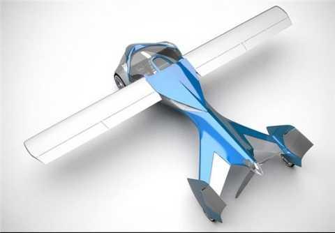 رونمایی اولین ماشین پرنده جهان + عکس