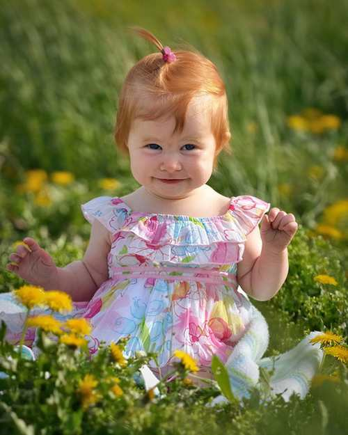 عکس هایی از زیباترین و خوشگل ترین نوزادان دختر