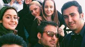 عکس های دیدنی پشت صحنه مجموعه تلویزیونی آخرین سلطان