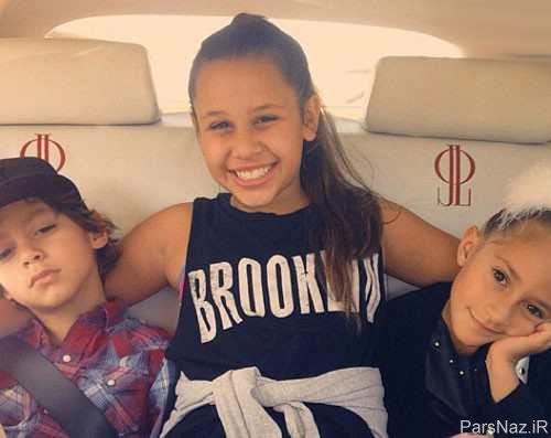 عکس دیدنی جنیفر لوپز و دخترش بعد از تصادف در اینستاگرام