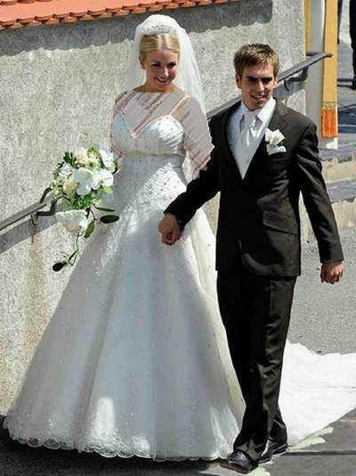 عکس هایی از جشن عروسی فیلیپ لام و کلودیا