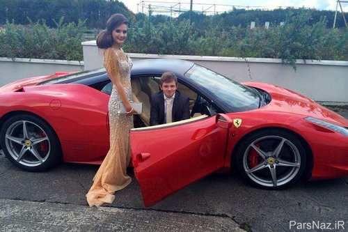 دختری که نامزدش را به خاطر ماشین قرضی شرمنده کرد + عکس
