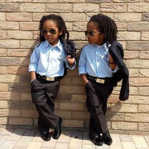 برادران دوقلوی خوش تیپ در شبکه اجتماعی غوغا به پا کردند