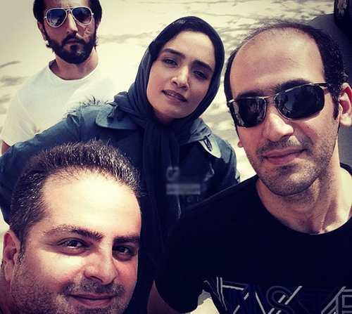 عکس بازیگران سریال رهایی در پشت صحنه متعلق به شبکه دو