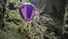 مردی که با بالن به اعماق زمین سفر کرد + عکس