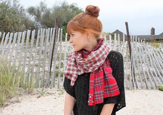 مدل های شال زمستانی دخترانه +تصاویر
