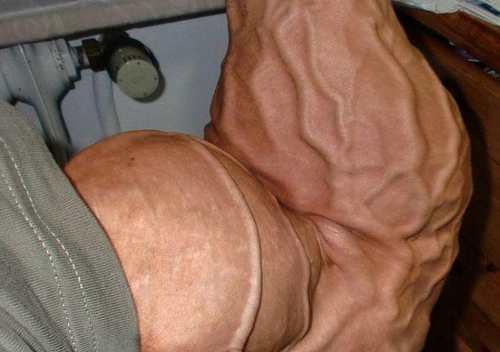 عکس های دیدنی از رگ های منفجرشدۀ بدنسازان حرفه ای دنیا