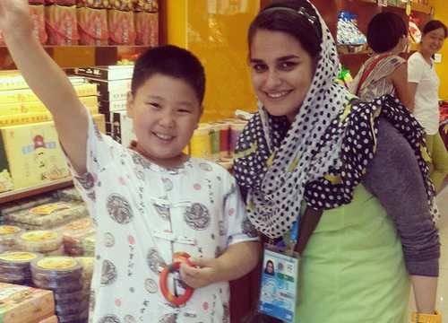 عکس هایی از نجمه خدمتی نژاد دختر طلایی ایران در بازیهای آسیایی