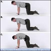 چند تمرین و نرمش ساده برای جلوگیری از کمردرد +تصاویر