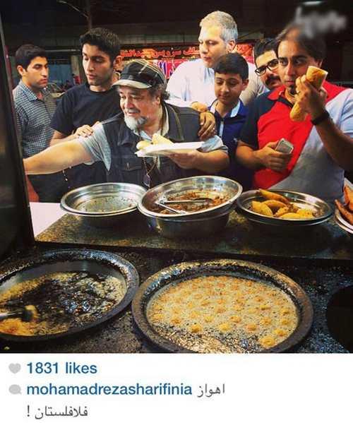 چهره های مشهور ایرانی در جامعه مجازی و شبکه های اجتماعی