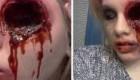 عکسهای دیدنی از هنرنمایی ترسناک دختر جوان