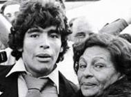عکس های دیدنی مارادونا کنار مادر مرحومش
