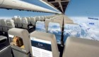 هواپیماهای آینده با پنجره نامرئی