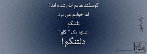 عکس نوشته های عاشقانه و عرفانی - سری 9