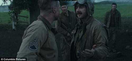 عکس های متفاوت از برد پیت در نقش جدیدش در جنگ جهانی