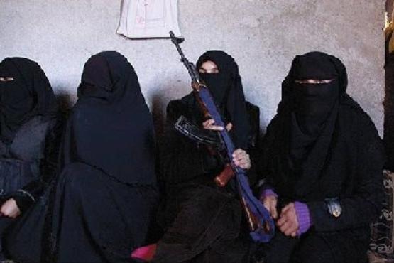 حرمسرای خلیفه داعش +تصاویر