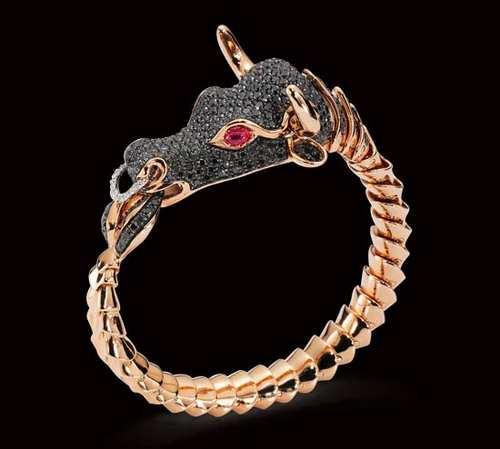 مدل های زیبا از دستبندهای طلا و جواهر برند