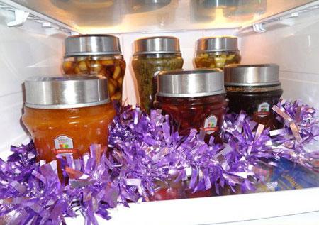 ایده های جالب برای تزیین یخچال عروس