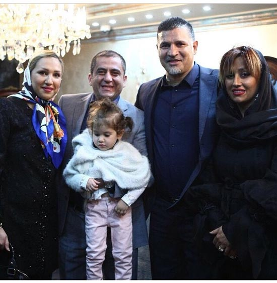 علی دایی به همراه همسرش در گالری جواهرات گرانقیمت جدیدش +عکس