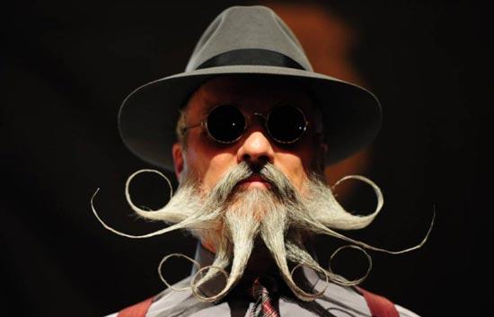 ریش و سبیل های عجیب و جالب +عکس