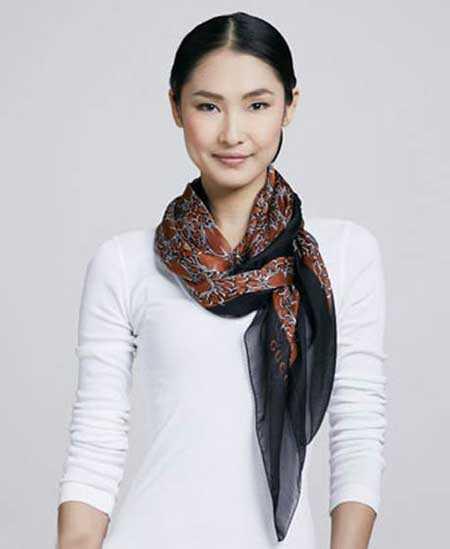 مدل شال و روسری زنانه ویژه پاییزه برند گوچی