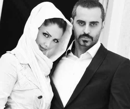 بازیگران و چهره های مشهور با همسرانشان + عکس