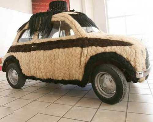 عکس های دیدنی و جالب از  پشمالوترین خودرو دنیا + عکس