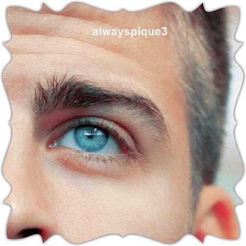 جرارد پیکه فوتبالیستی با چشمان آبی مثل دریا + عکس