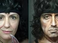 قدرت عجیب و شگفت انگیز یک زن در گریم +تصاویر