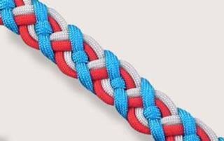 طریقه بافت دستبند سلتیک +عکس