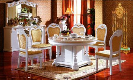 مدل های لوکس میز ناهارخوری سفید